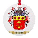 Meirovitch Round Ornament