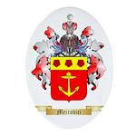 Meirovici Oval Ornament