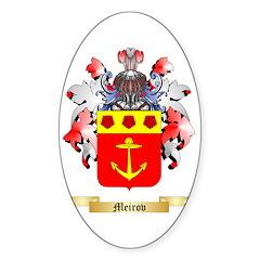 Meirov Sticker (Oval)