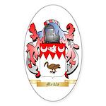 Meikle Sticker (Oval 50 pk)