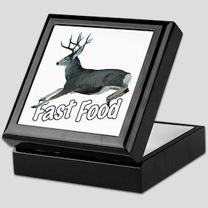 Fast Food Buck Deer Keepsake Box