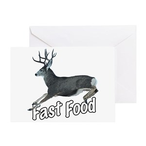 Funny Deer Hunting Greeting Cards - CafePress 25e0a088f5f0