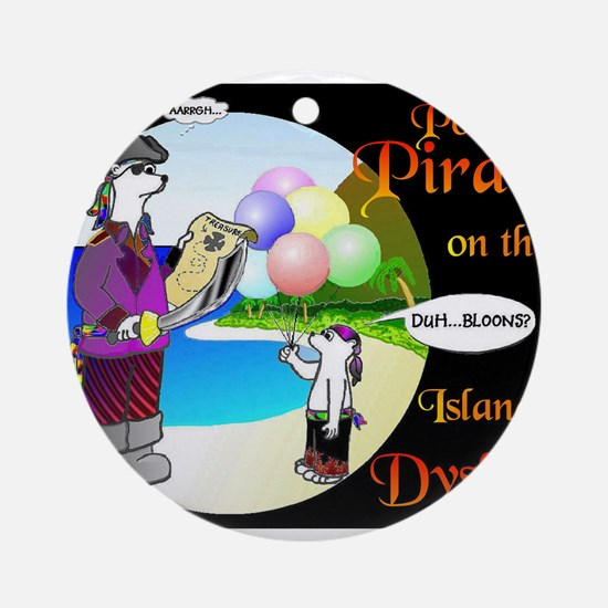 POLAR PIRATES... Ornament (Round)