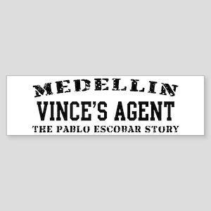 Vince's Agent - Medellin Bumper Sticker