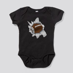 Football Hole Baby Bodysuit
