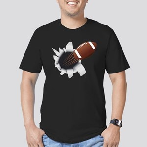 Football Flying Out Of Hole T-Shirt