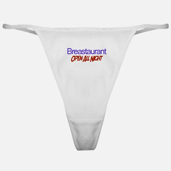 Breastaurant - Open All Night Classic Thong