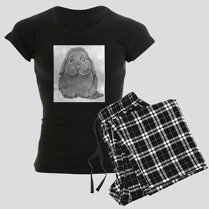Holland Lop by Karla Hetzler Pajamas