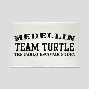 Team Turtle - Medellin Rectangle Magnet