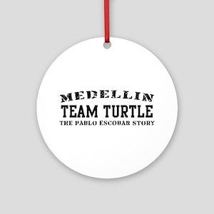 Team Turtle - Medellin Ornament (Round)
