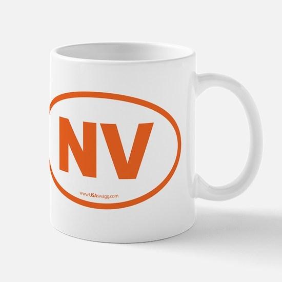 Nevada NV Euro Oval Mug