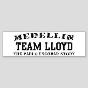 Team Lloyd - Medellin Bumper Sticker