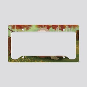 Lady Ice 03 License Plate Holder