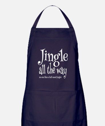 Cute All the way Apron (dark)