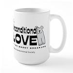 Unconditional Love Large Mug Mugs