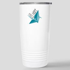 Peace & Hope Travel Mug