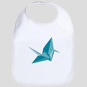 Origami Crane Bib