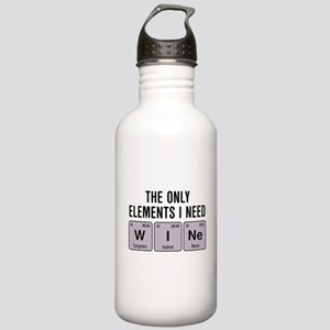 Wine Chemistry Element Stainless Water Bottle 1.0L