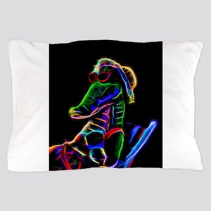 Neon Alligator Pillow Case