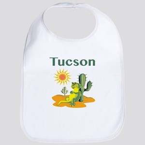 Tucson Lizard under Cactus Bib