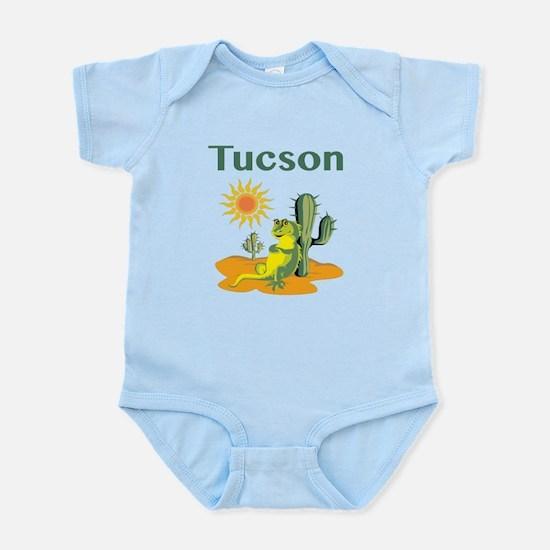 Tucson Lizard under Cactus Body Suit