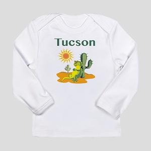 Tucson Lizard under Cactus Long Sleeve T-Shirt
