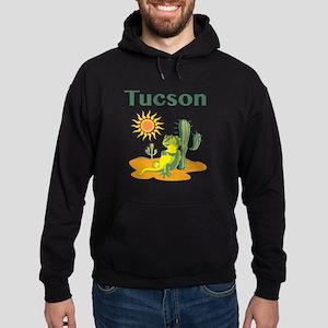 Tucson Lizard under Cactus Hoodie