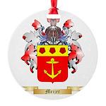 Meijer Round Ornament