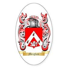 Meighan Sticker (Oval)