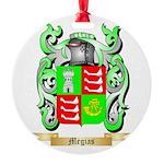 Megias Round Ornament