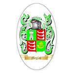 Megias Sticker (Oval 10 pk)