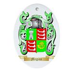 Megias Oval Ornament