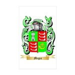 Megia Sticker (Rectangle 50 pk)