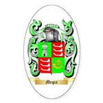 Megia Sticker (Oval 50 pk)