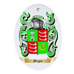 Megia Oval Ornament