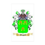 Meggett Sticker (Rectangle 10 pk)