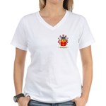 Meggers Women's V-Neck T-Shirt