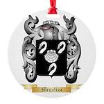 Megalizzi Round Ornament