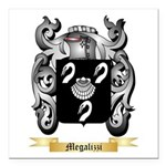 Megalizzi Square Car Magnet 3