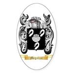 Megalizzi Sticker (Oval)