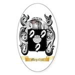 Megalizzi Sticker (Oval 50 pk)