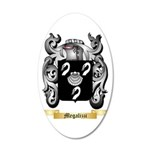 Megalizzi 35x21 Oval Wall Decal