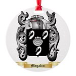 Megalini Round Ornament