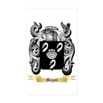 Megali Sticker (Rectangle 50 pk)