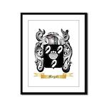 Megali Framed Panel Print