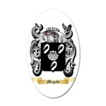 Megale 35x21 Oval Wall Decal