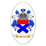 Meffatt Sticker (Oval 50 pk)