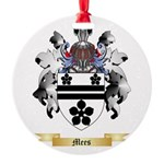 Mees Round Ornament