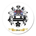Mees Round Car Magnet