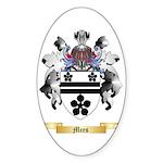 Mees Sticker (Oval 50 pk)